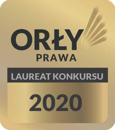 Orły Prawa - laureat konkursu 2020 Kancelaria Ultimatum